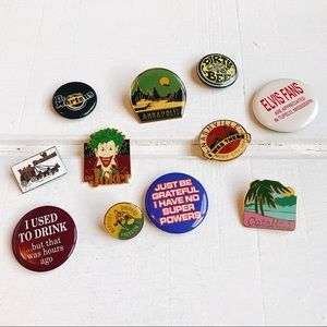 Vintage Collectible Pins